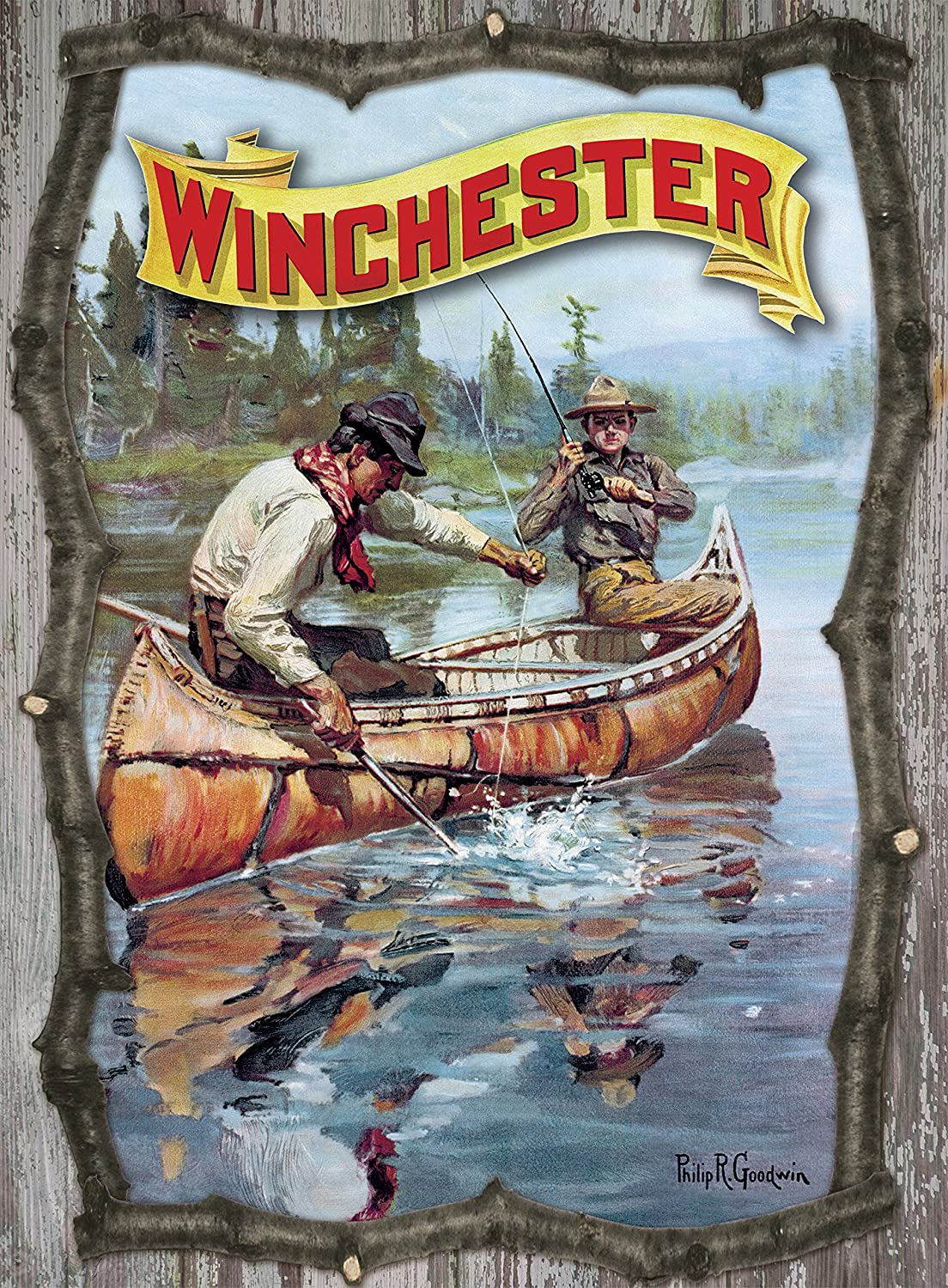 Excellent Rockin W Brand 70% OFF Outlet Fisherman By 3D Stream Sign Twig