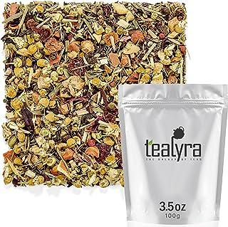 Tealyra - Healthy Edge - Immunity Booster - Detox - Weight Loss - Herbal Loose Leaf Tea Blend - Pu-Erh - Ma...