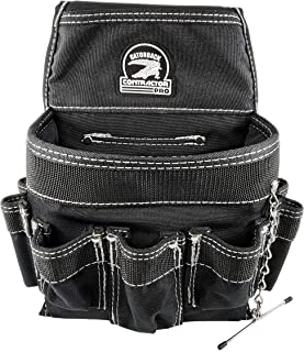 Gatorback B705 Zip-Top Tool Bag w//19 Pockets and Tray Includes Shoulder Strap