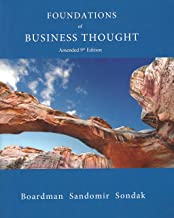 Best foundations of business thought amended 9th edition Reviews