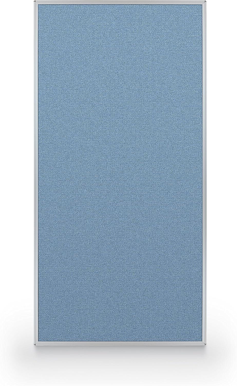 Best-Rite 72 人気ブランド多数対象 x 36 Inch Standard Blue Modular Panel Divider Fabr 年間定番