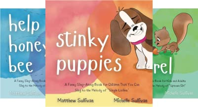 Animal Sing-Along (3 Book Series)
