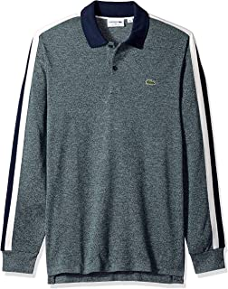 Lacoste Mens LONG SLEEVE REG FIT MADE IN FRANCE PIQUE POLO Polos