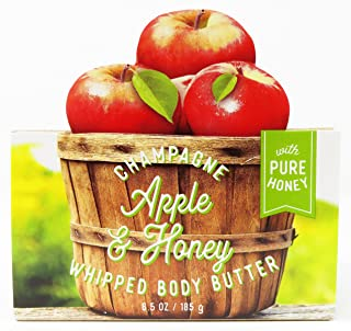 Bath and Body Works Champagne Apple & Honey Whipped Body Butter 6.5 oz new for 2017