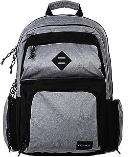 Animal Mens Spray School College Two Strap Backpack Rucksack Bag - Grey