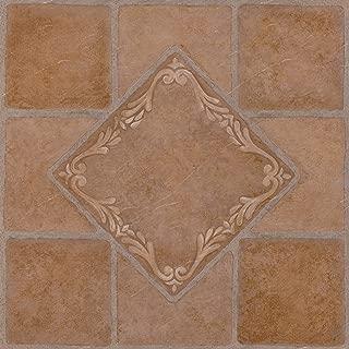 Achim Home Furnishings FTVMA44520 Nexus 12-Inch Vinyl Tile, Southwest, 20-Pack, South West Ceramic