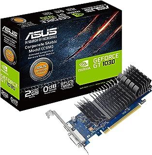 ASUS GT1030-2G-CSM GeForce GT 1030 2GB GDDR5 - Tarjeta gráfica (GeForce GT 1030, 2 GB, GDDR5, 64 bit, 1920 x 1080 Pixeles, PCI Express 3.0)