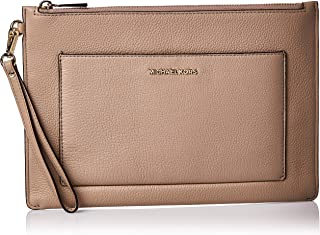 Michael Kors Womens Lg Pocket Zip Pouch Bag