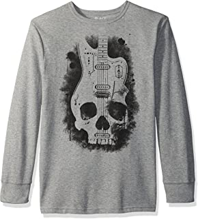 The Children's Place Big Boys' Graphic Thermal Tee