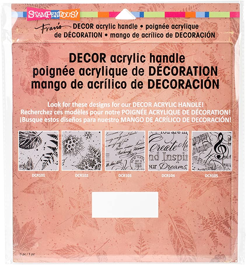 STAMPENDOUS Decor Large Acrylic Handle