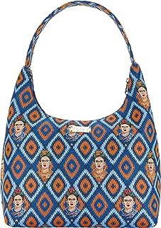 Signare Tapestry Hobo Shoulder bag slough purse for Women with Frida Kahlo Design