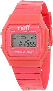 Neff Men's F11704-Pink Old School Flava Pink Watch