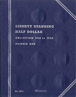 "1916-1936 LIBERTY STANDING HALF DOLLAR ""Whitman"" 35 COIN TRIFOLD WHITMAN No 9021 COIN; ALBUM, BINDER, BOARD, BOOK, CARD, C..."