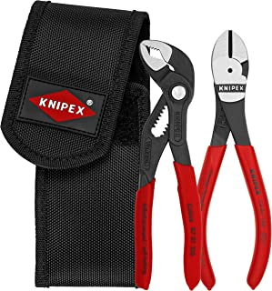 Knipex 00 20 72 V02 Mini pliers set in belt tool pouch (2 Piece)