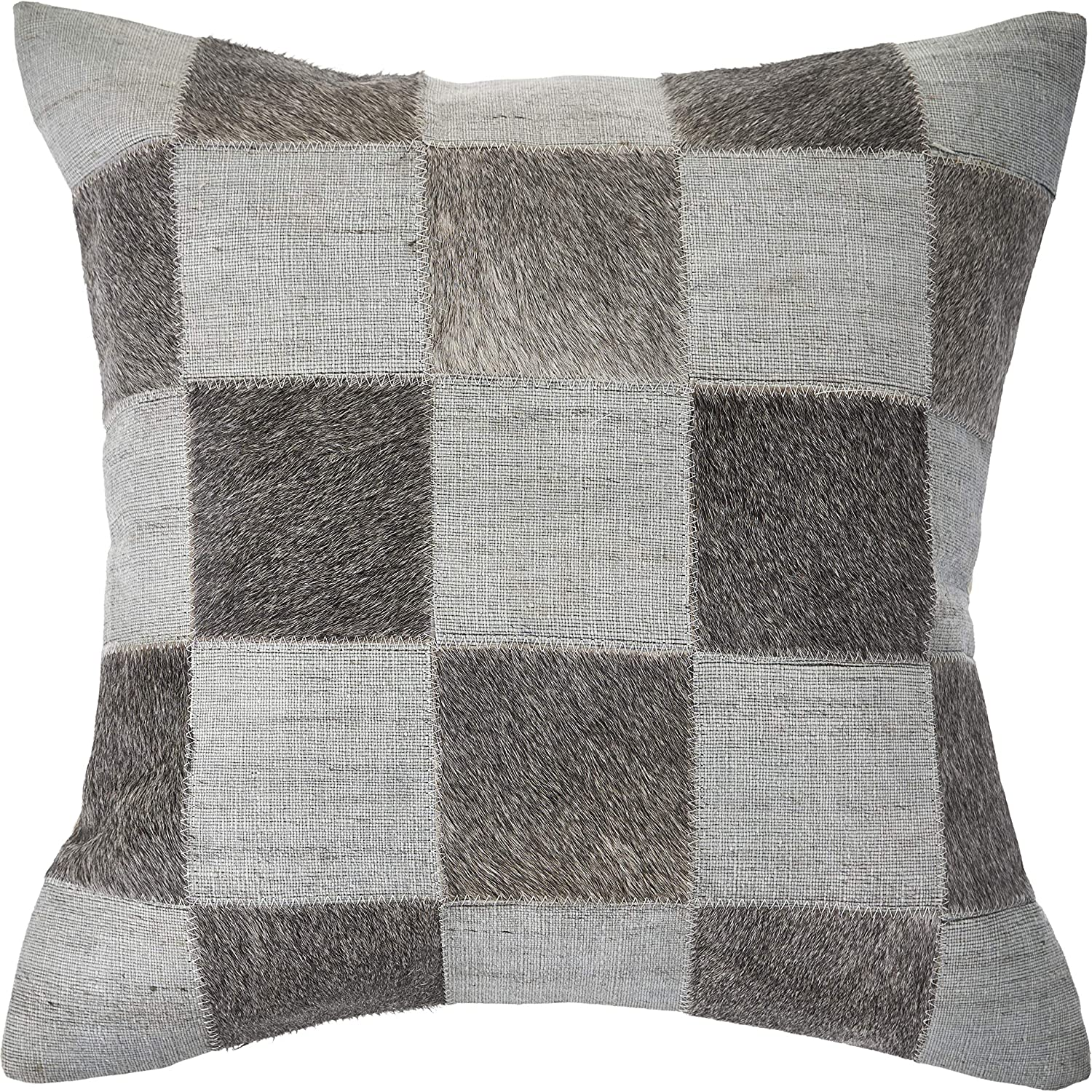 Max 78% OFF LR Home Silver and Direct sale of manufacturer Brown Check 20