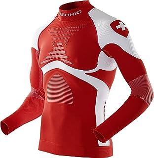 X-Bionic Patriot Acc_Evo UW Shirt LG_LS.Turtle Neck, Intimo Uomo, Switzerland, XXL