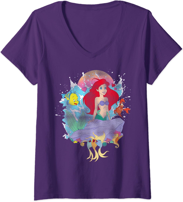 Women/'s Disney Shirt Disney Ariel Shirt Disney Shirts for Women Little Mermaid Shirt Disney Family Shirts Disney Shirts