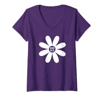 74f481765f5 Amazon.com: Womens Alzheimer's Awareness Products Purple #ENDALZ End ...