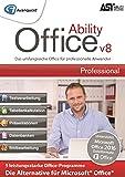 Ability Office 8 Professional - Die leistungsstarke Office-Alternative ohne Abo! Für Win 10|8|7 [Online Code]