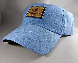 Landshark Ocean Blue Leather Patch Hat