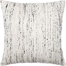 """Loloi Loloi-DSETP0242SIMLPIL3-Silver/Multi Decorative Accent Pillow Mostly Cotton & Silk Cover with Down Fill 22"""" x 22"""", 2..."""