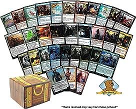 MTG Planeswalker Guaranteed Bundle Lot - 100 Magic: The Gathering Cards Includes 1 Planeswalker - 4 Rares - 5 Foils! Comes in Golden Groundhog Treasure Chest Storage Box!
