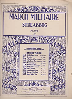 March Militaire, No. 5 (Easy Compositions in Dance Form, for piano)