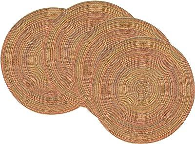 Now Designs Galaxie Placemat, Set of Four, Kumquat