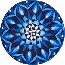 Grund Bath Rug, 100% Polyacryl Supersoft Blue, 100 cm