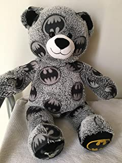 Build a Bear Batman Superhero Teddy 16in. DC Comics Edition Stuffed Plush Toy Animal
