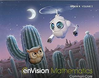 Envision Mathematics 2020 Common Core Student Edition Grade K Volume 2
