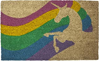 Entryways Unicorn,Coir with PVC Backing Doormat 17