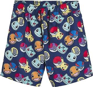 Pokèmon Pantalones Cortos Pantalones Cortos De Natación para Niños con Pikachu Y Pokeballs | Ropa para Niños En Tamaño 5 A...