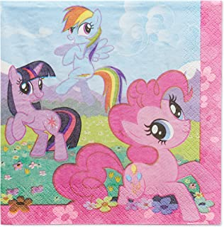 American Greetings My Little Pony Party Supplies, Paper Lunch Napkins (48-Count)