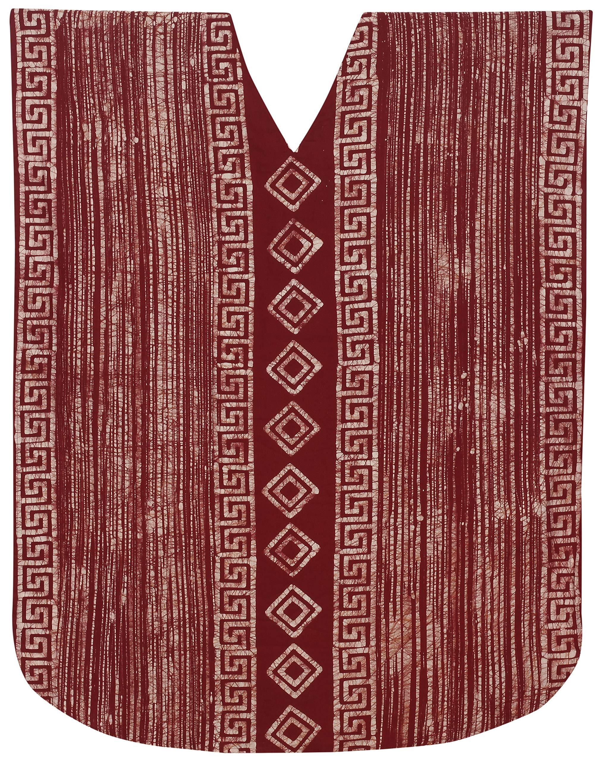 Available at Amazon: LA LEELA Women's Long Caftan Boho Dress Sleep Wear Swim Cover Ups Hand Batik A