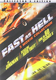 Fast As Hell - 3 Movie Collection - The Junkman - Deadline Auto Theft - Gone in 60 Seconds II