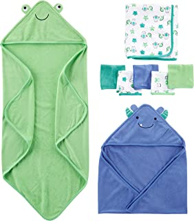 Simple Joys by Carter's Baby Boys' 8-Piece Towel and Washcloth Set
