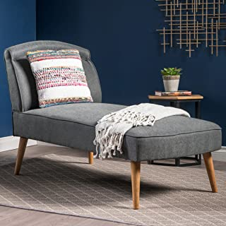 modern grey chaise lounge