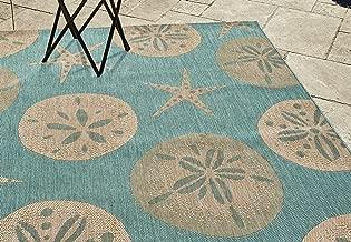 Best outdoor rugs beach theme Reviews