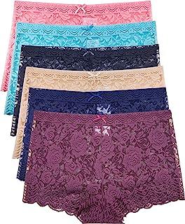 Barbra's 6 Pack of Women's Regular & Plus Size Lace...
