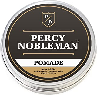 Pomade By Percy Nobleman 3.4 Ounce, A British Made Water Based Pomade