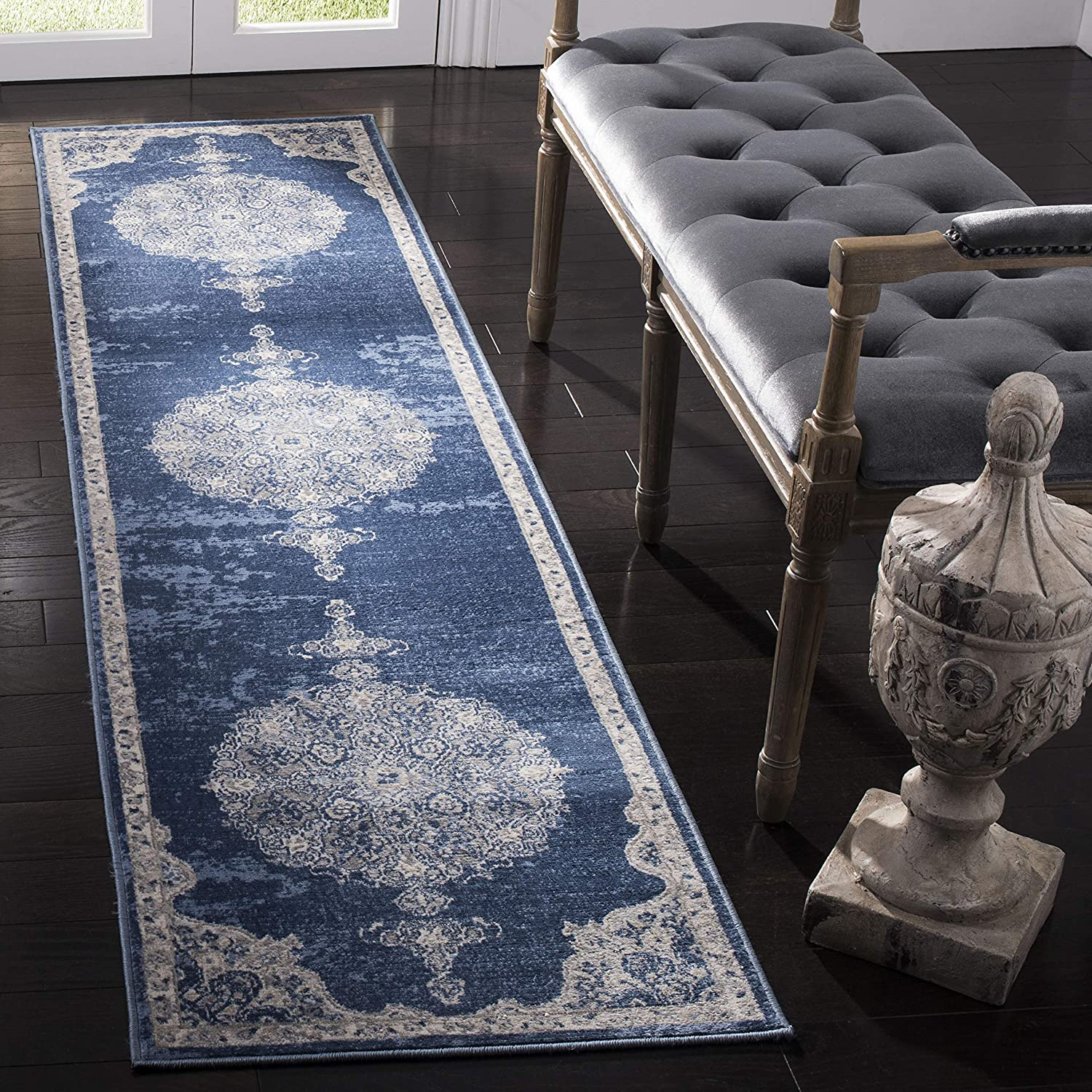 Safavieh Brentwood Collection BNT867M Medallion Non-S Gifts Distressed Safety and trust