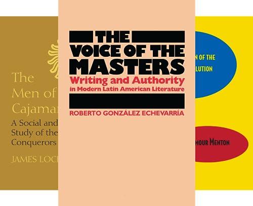 Llilas Latin American Monograph (29 Book Series)
