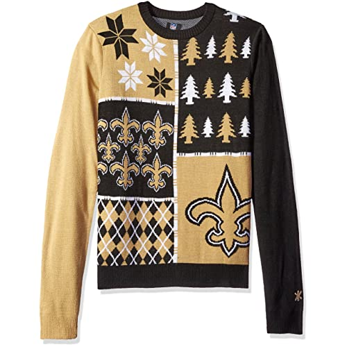 FOCO NFL Adult New Orleans Saints Ugly Sweater cb2d277aa