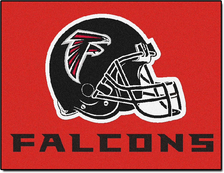 FANMATS NFL Atlanta Falcons Nylon Face AllStar Rug