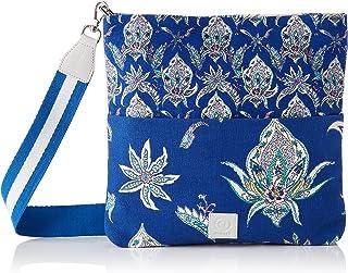 Desigual Womens Fabric Across Body Bag, Blue, U