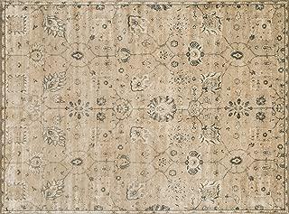 Loloi Rugs, Nyla Collection - Sand/Charcoal Area Rug, 1'6