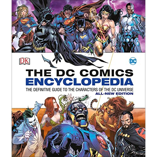 new arrival f6036 d1a32 DC Comics Encyclopedia All-New Edition  The Definitive Guide to the  Characters of the DC Universe Hardcover – October 25, 2016