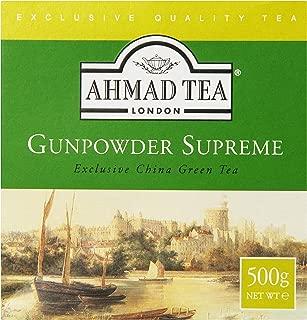 Ahmad Tea Gunpowder Green Tea, 17.6-Ounce Packet (Pack of 4)