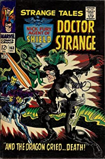 Autograph Strange Tales #163 VF Signed by Jim Steranko (Strange Tales Doctor Strange and Nick Fury, Agent of SHIELD)